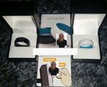 Contactless Ring Contactless Payment Ring Gift Box [Black Leather Style Gift Box]